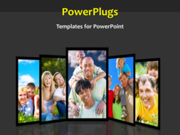 PowerPoint Template - Family background